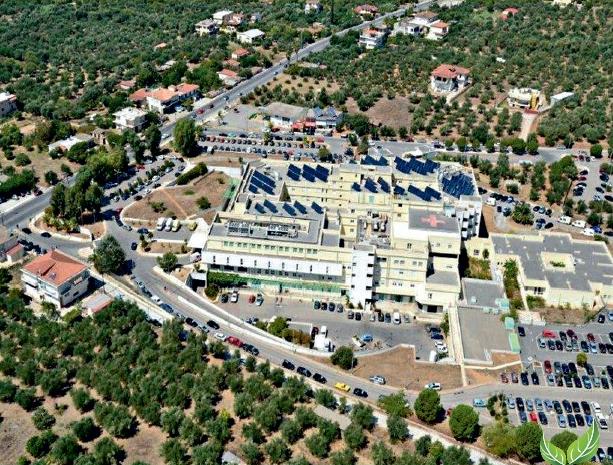 """Νοσοκομείο Καλαμάτας – Το 1ο """"πράσινο"""" νοσοκομείο της χώρας"""