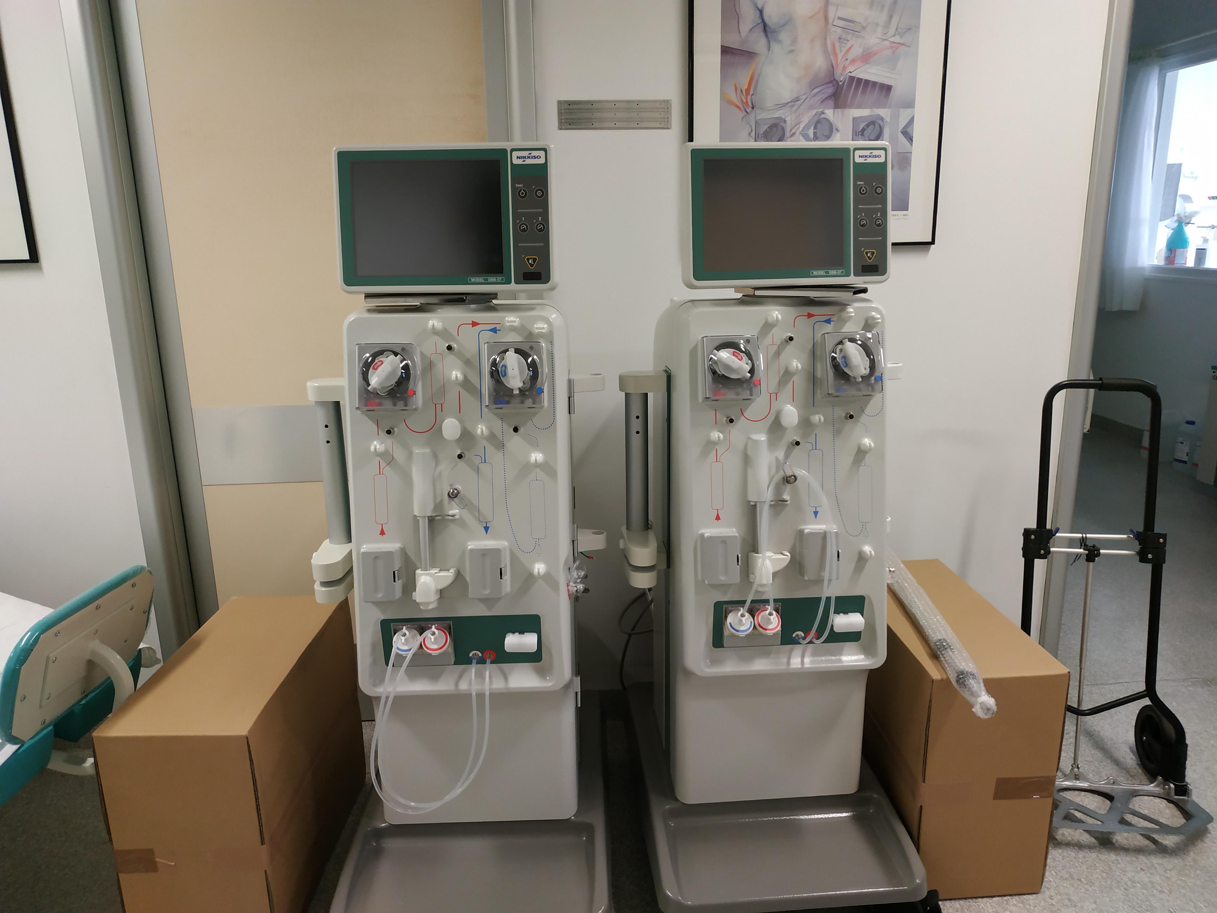 Είκοσι (20) νέα μηχανήματα αιμοκάθαρσης στο Νοσοκομείο Καλαμάτας